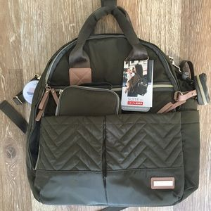 Skip * Hop Suite diaper bag